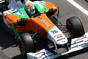 Force India Spanish GP Race Report