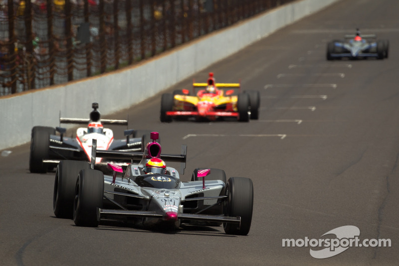 Pippa Mann Indy 500 Race Report