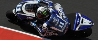 Yamaha MotoGP Team On Italian GP Front Row