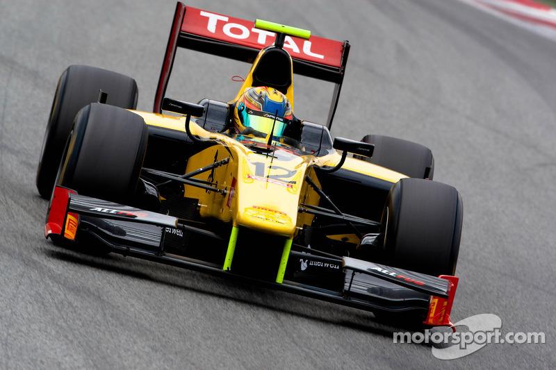 DAMS Team Silverstone Race 1 Report