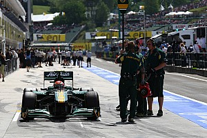 Team Lotus Hungarian GP Race Report
