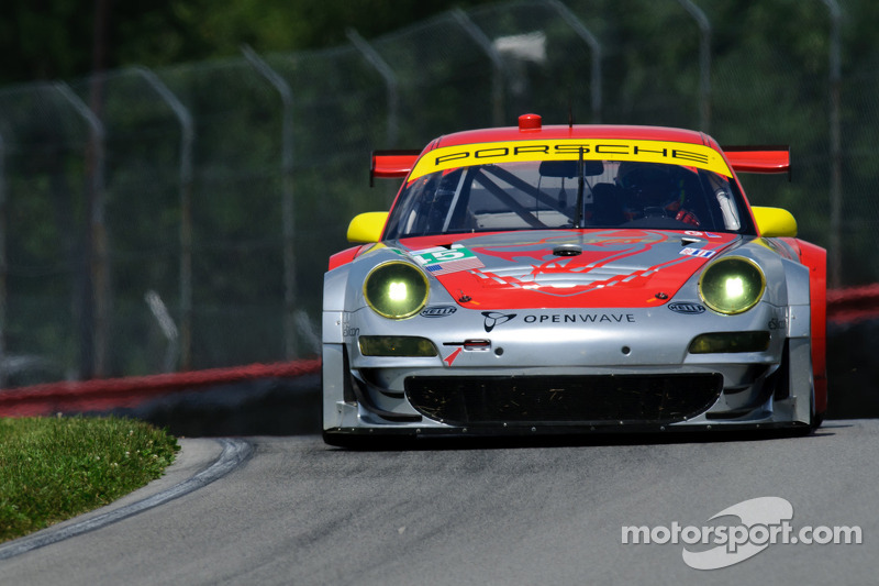 Flying Lizard Motorsports Mid-Ohio Qualifying Report