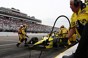 IndyCar Sarah Fisher Racing Loudon race report