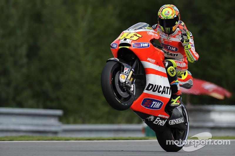 Ducati Czech GP race report