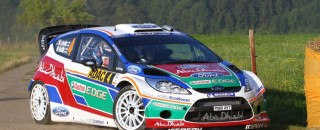 Ford has troubles at Rally Deutschland