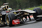 Lotus Renault Belgian GP - Spa qualifying report