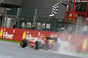 Racing Engineering Spa race 1 report