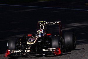 Lotus Renault Italian GP - Monza Friday practice report