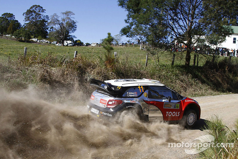 Petter Solberg Rally Australia final leg summary