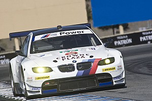ALMS BMW Team RLL Laguna Seca qualifying report
