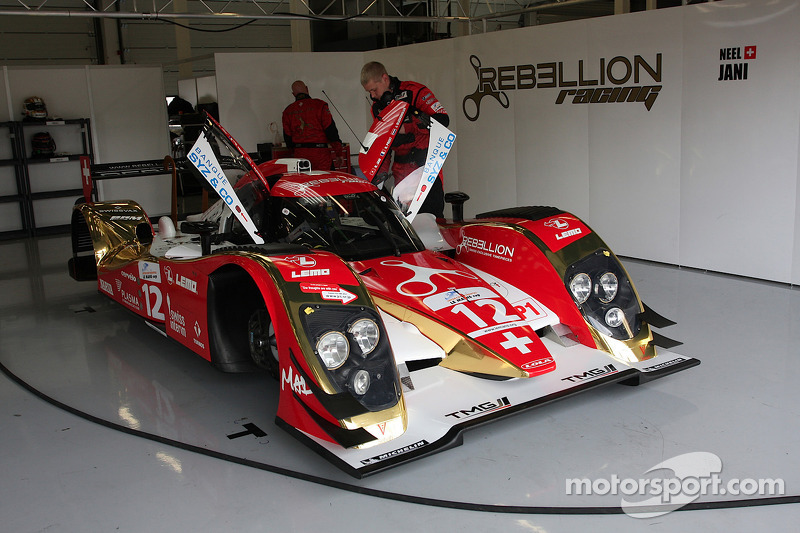 REBELLION Racing ready for Estoril
