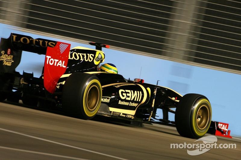 Lotus Renault Singapore GP qualifying report