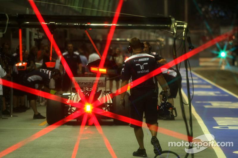 Williams Singapore GP race report