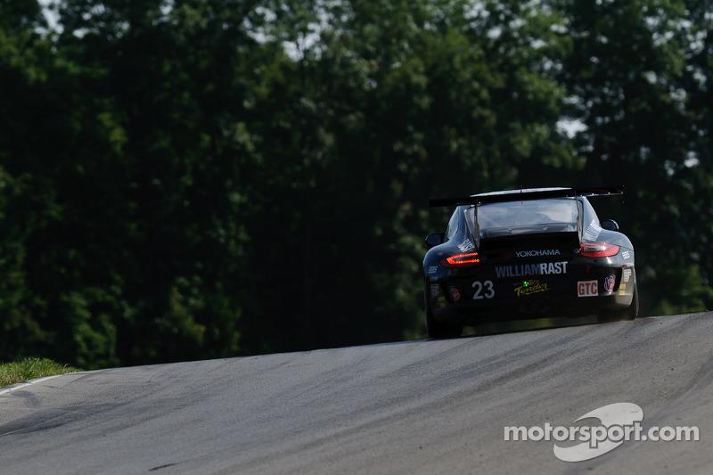 Alex Job Racing Road Atlanta qualifying report