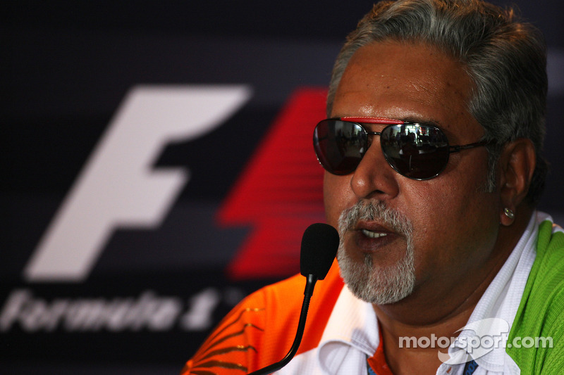 Sources say Mallya selling Force India