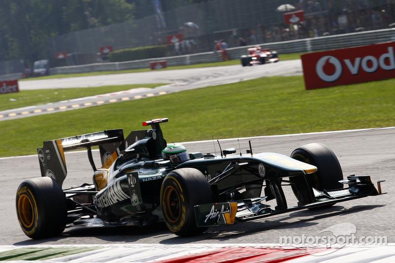 Team Lotus Japanese GP - Suzuka Friday practice report