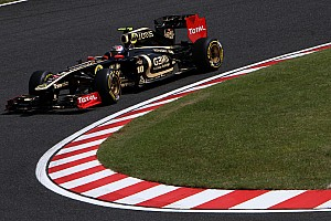 Lotus Renault Japanese GP - Suzuka qualifying report