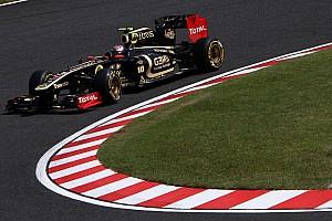 Formula 1 Lotus Renault Japanese GP - Suzuka qualifying report