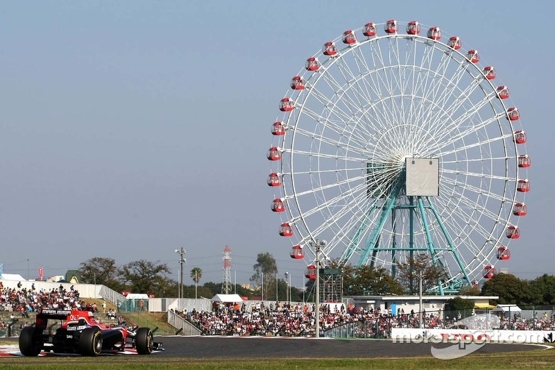 Marussia Virgin Japanese GP - Suzuka race report