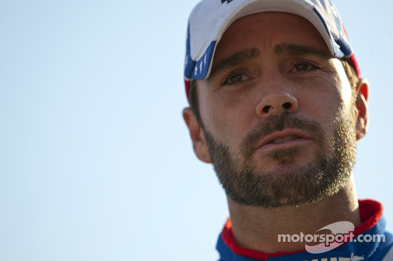 Jimmie Johnson claims the win at Kansas Speedway