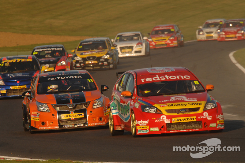 Double champion Thompson returns for season finale at Silverstone