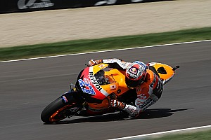 MotoGP Stoner tops Friday practice at Australian home GP