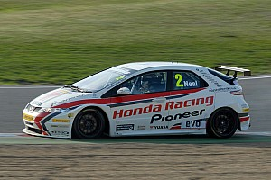 BTCC Matt Neal Takes 2011 BTCC Crown