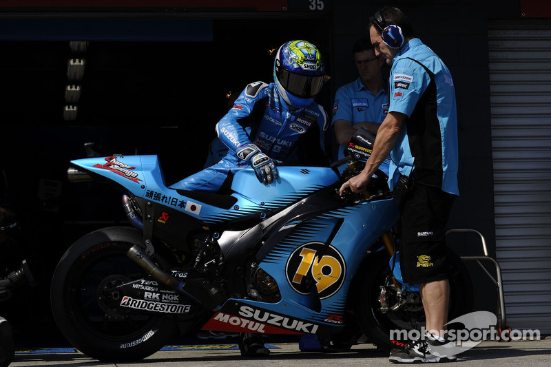 Suzuki Malaysian GP Friday practice report
