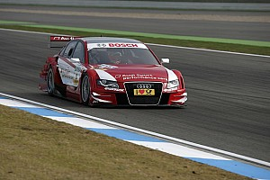 DTM Audi is starting into its last race of the season from P1 at Hockenheim
