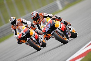 Series Malaysian GP warmup report