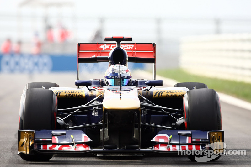 Toro Rosso Indian GP Friday practice report