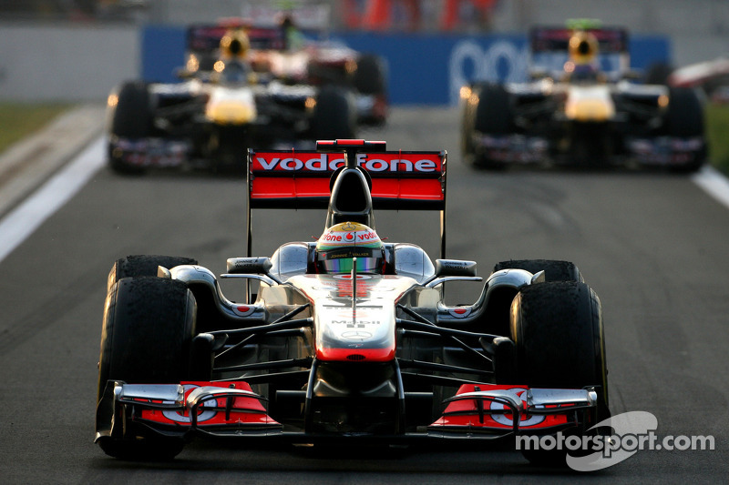 McLaren Indian GP Friday practice report