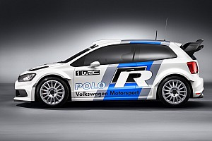 Volkswagen begind Polo R WRC test