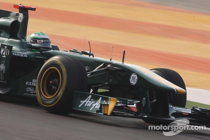 Team Lotus hoping for good qualifying position for Abu Dhabi GP