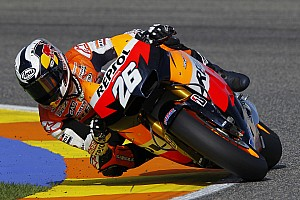 Repsol Honda Valencia test day 2 report