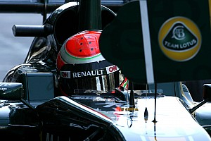 Formula 1 Team Lotus Abu Dhabi GP Friday practice report