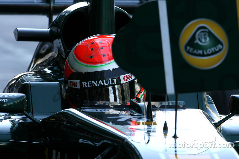 Team Lotus Abu Dhabi GP Friday practice report