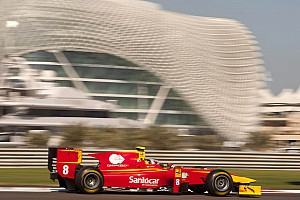 Racing Engineering Abu Dhabi qualifying report