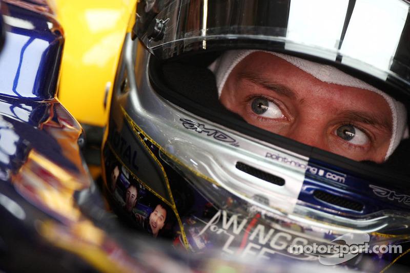 Vettel unbeatable again and takes pole for Abu Dhabi GP