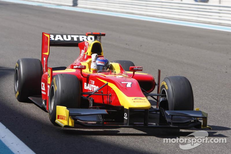 Racing Engineering pleased with Leimer Abu Dhabi race 1 win