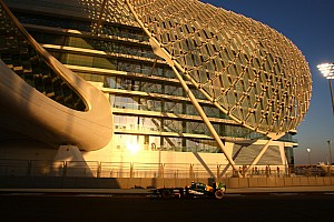Team Lotus Abu Dhabi GP race report