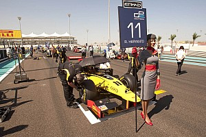 GP2 DAMS Abu Dhabi race 2 report