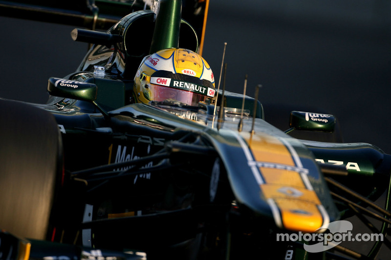 Team Lotus Abu Dhabi young driver test Wednesday report