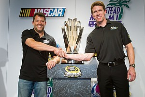 NASCAR Sprint Cup Championship contenders press conference: Edwards and Stewart