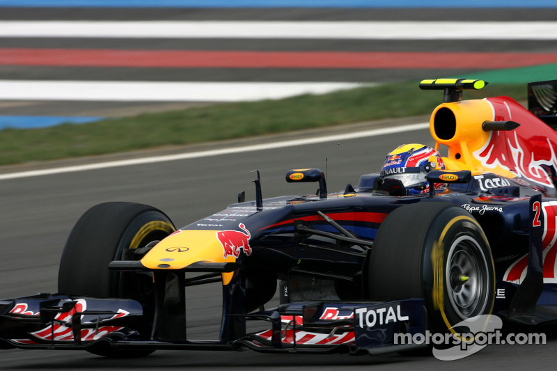 Webber quickest during first practice for Brazilian GP at Interlagos