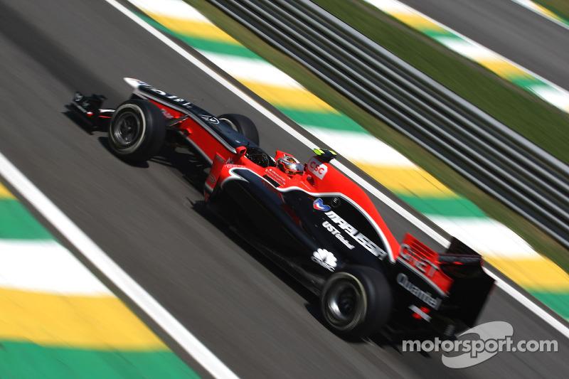 Marussia Virgin Brazilian GP Friday practice report