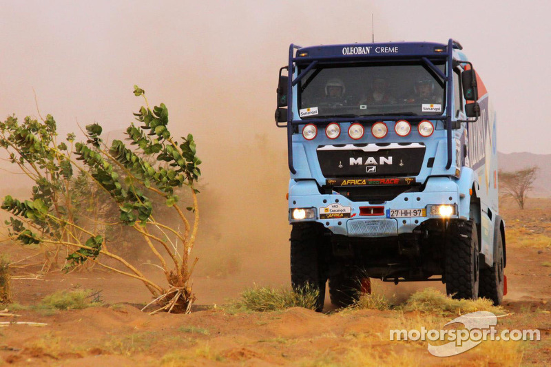 Jacinto ends up with Africa Eco Race's stage 7 victory