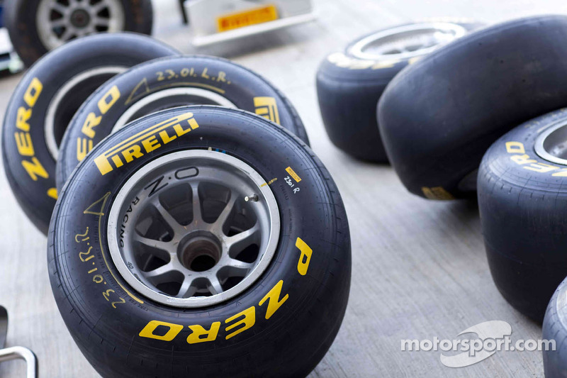Pirelli to launch 2012 tyres on January 25