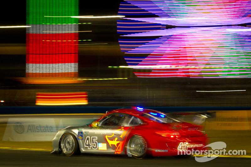 Flying Lizard Motorsports Daytona 24H hour 6 report