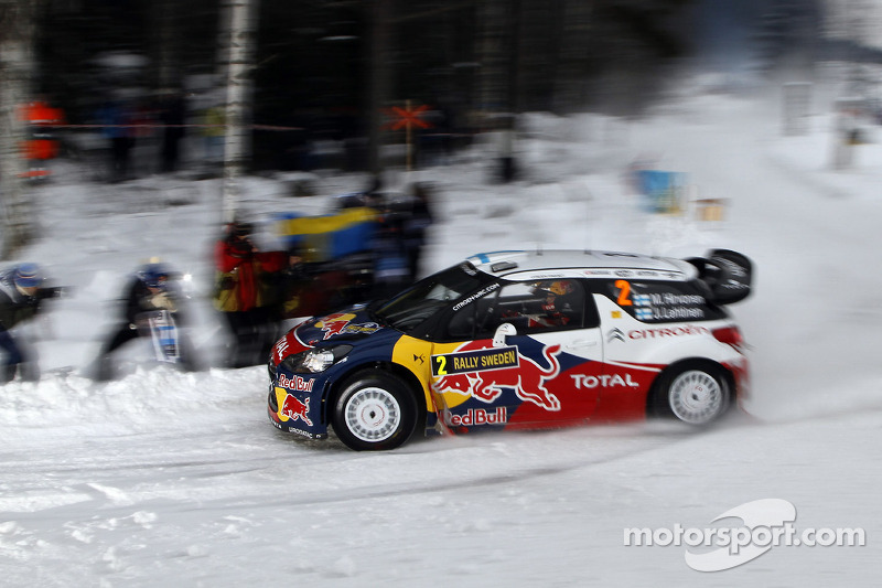 Hirvonen Battling It Out For Top Spot